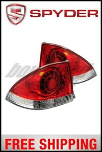 Spyder Lexus Is 300 01 03 Led Tail Lights Red Clear