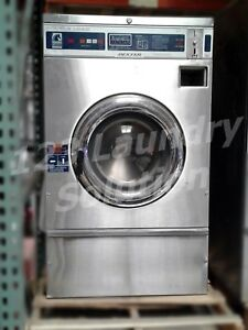 Dexter Front Load Washer Double Load Coin Op T300 Wcn18abss Stainless Steel