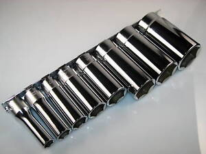 Whitworth Socket Set Deep Well 6 Point 3 8 Drive Koken 8 Piece Sockets Set