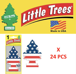 Freshener Vanilla Pride 10945 Little Trees Made In Usa Pack Of 24