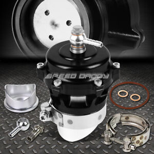 50mm Aluminum Black Turbocharger 360 Vent Blow Off Valve Bov 35psi Boost flange