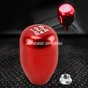 For 88 00 Honda Civic Crx Acura Integra Red Racing Manual 5 Speed Shift Knob