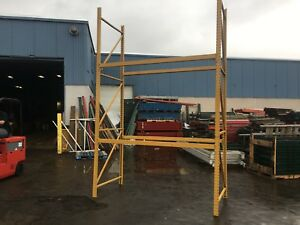 4 Sections Pallet Rack 32 L X 10 t X 44 Deep Clean Racking Hd