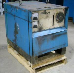 Miller Dc Arc Welder Cv Mig Power Source 208 230 460v 3 phase Cp 250ts