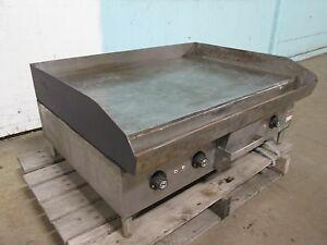 hobart Cg58 Heavy Duty Commercial 36 Electric 3 Ph Flat Top Grill griddle