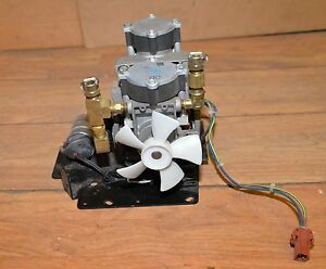 Thomas Power Air Motor Vacuum Pump Model 982004a C60191 Vintage Electronic