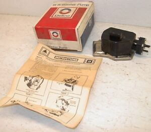 Nos 1968 1973 Washer Pump Chevy Chevelle El Camino Impala Caprice Ss 427 Gm