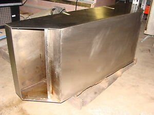 Johnson Diversified Quiznos Style 54 Stainless Steel Exhaust Hood With Filters