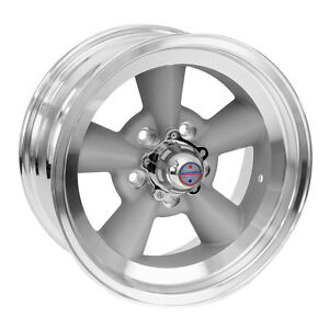 American Racing Vn3097865 Mustang Torq thrust Wheel 17 x8 Vintage Silver With M