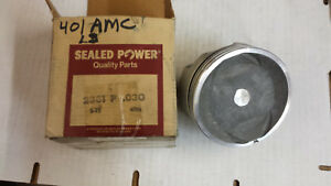 401 Amc Forged Piston Single 2381p Sealed Power Single 030 Over