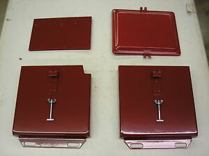Ih Farmall Super A 100 140 200 New Battery Box With Lid 18 9 130