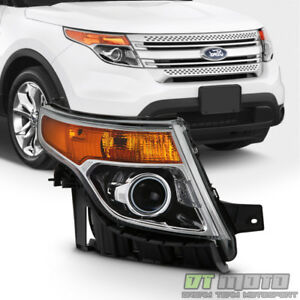 2011 2015 Ford Explorer Headlight Factory Style Halogen Headlamp Passenger Side