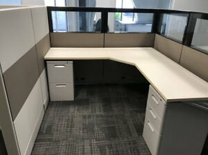 Used Office Cubicles Herman Miller Foundation 6x6 Cubicles