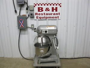 Hobart A 200t Bakery Dough Mixer 20 Qt W Stainless Steel Bowl Guard Paddle