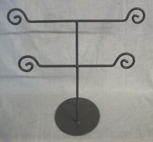 Store Display Fixtures 6 Metal Jewelry Display Stand 2 Tiers 12 Tall X 14 Wide
