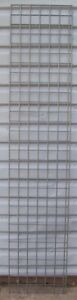 Store Display Fixtures 2 Gray Gridwire Displays 19 Wide X 93 Tall