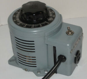New Powerstat 116b Variable Autotransformer transformer Superior Electric 140v