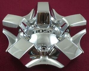 Boss Motorsports Wheels Chrome Custom Wheel Center Cap 3240 1