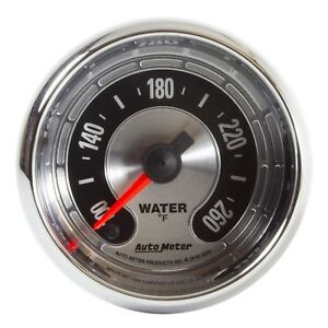 Autometer 1255 American Muscle Water Temperature Gauge