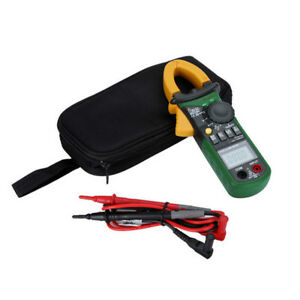 Mastech Ms2108a Digital Clamp Meter Ac dc Current Voltage Resistance Tester