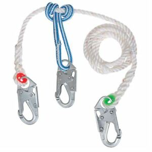 Buckingham 9vv8z18cvq1 8 Safety Lanyard W Snap Prusik Arborist Tree