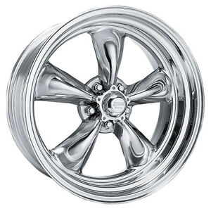 American Racing Vn5155765 Mustang Torq Thrust Ii Wheel 15 x7 Polished 1965 1973