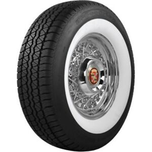 Coker Tire 629703 Bf Goodrich Silvertown Whitewall Radial 235 75r 15
