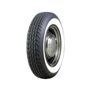 Coker Tire 579811 Bf Goodrich Silvertown Whitewall Radial Tire 165r 15