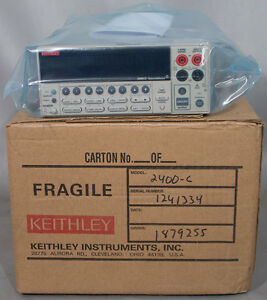 Refurbished Keithley 2400 c 20w Broad Purpose I v Source Meter Sourcemeter Smu