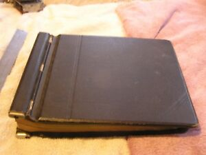 Vintage Art Deco Antique Auto Flex Chain Binder Notebook Binder