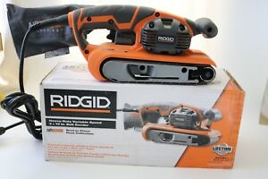 NEW - RIDGID 3 in. x 18 in. Heavy Duty Variable Speed Belt Sander # R27401