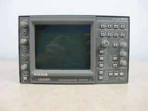 Leader 5870 Vector waveform Monitor