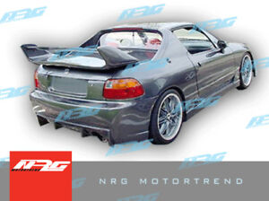 For Civic Del Sol 93 97 Honda R33 Front Bumper Fiberglass Body Kit R33 52fk