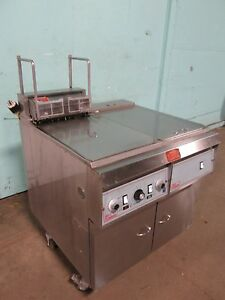 pitco Frialator H d Commercial Electric Fryer w auto Lift Filtration System