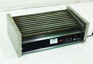 Used Star 50sce Concessions Restaurant 50 Hot Dog Roller Grill