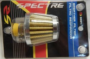 Spectre 3994 Breather Crankcase Vent Filter 10mm Flg 2 In Od Fits 3 8 To 1 2