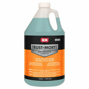 Sem Rust mort Converts Rust To A Hard Protective Coating 1 Gallon