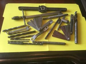 Machinist Machine Shop Tools Tool Mistery Grab Lot Threading Drilling