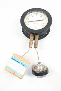 Ashcroft Dual Diaphragm Pressure Gauge 0 30psi 6in