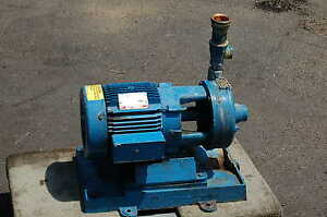 54 Gpm Paco Water Pump Pacific Pumping Centrifical 5 Hp Ge Motor Irrigation