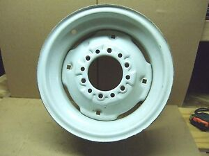 New 15 X 6 Front Tractor Rim Six Hole Heavy Duty Usa Made John Deere Ford Case
