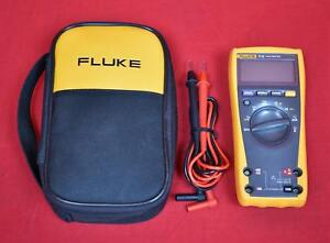 Fluke 77iv With Leads And Case Digital Multimeter Dmm