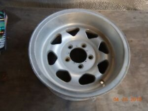 Vintage Dan Gurney 14x7 Aluminum Mag Wheel 5 On 4 1 2 Bolt Pattern Ford Mopar