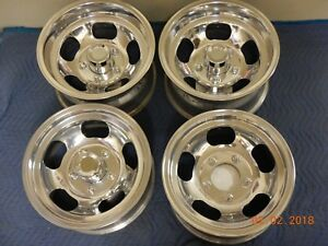 Set Vintage 15 Western Slot Mag Wheels Ford Bronco Truck 70 S Van Jeep Mags 150