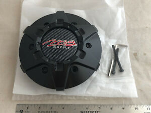 New Mb Motorsports Wheels Wheel Tko Rim Hub Cover Black Center 6 Lug Cap C 358 4