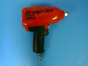 Snap On Mg725 1 2 Drive Impact Wrench W Red Boot Cover Excellent Condition