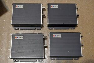 Lot Of 4 Acti Sed 2120 2140 1 Ch Video Server Encoder Used