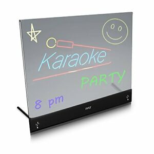Sound Around Pyle Erasable Desktop Illuminated Led Writing Board W Remote