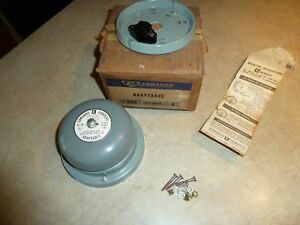 Nos Edwards Adaptabel 4 Bell Alarm No 340 Adaptabell New In Box Vintage