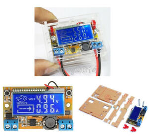 Dc dc Step Down Power Supply Adjustable Push button Module With Lcd Display